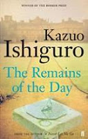 The Remains of the Day by Kazuo Ishiguro book cover
