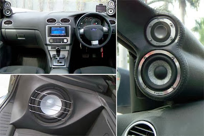 Modifications Audio Ford Focus 2005