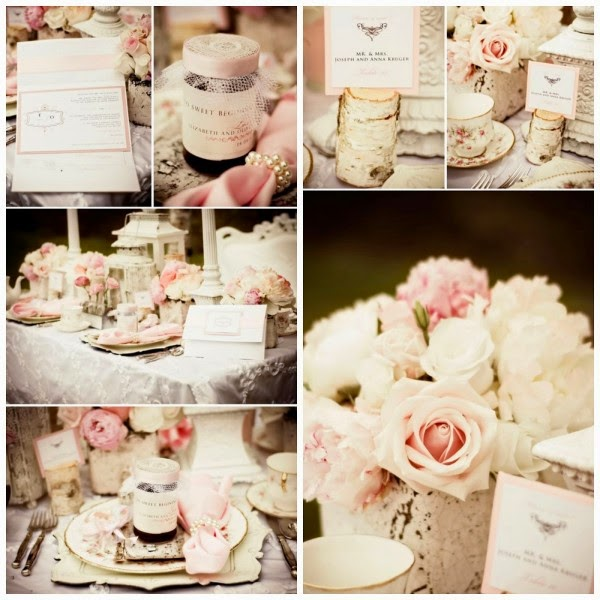 8 ideas para una boda shabby chic blog de bodas for Decoracion boda romantica