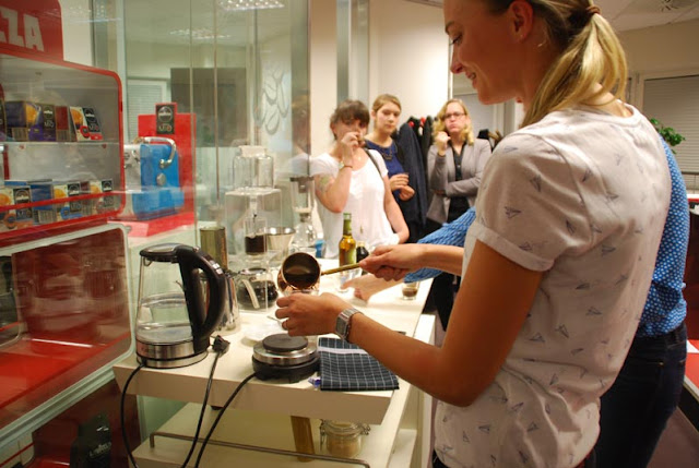 Ulrike Neiss von Lavazza macht Mokka | pastasciutta.de