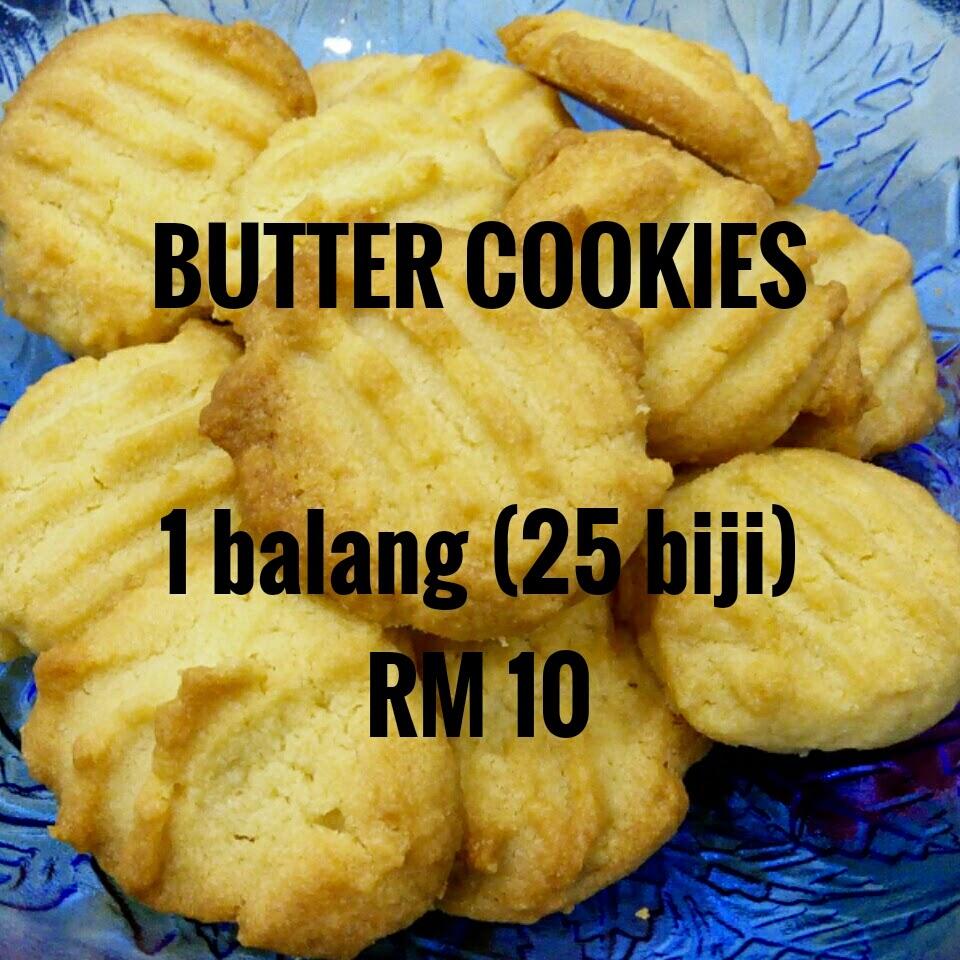 BUTTER COOKIES (BISKUT BUTTER) MURAH DAN SEDAP RM10