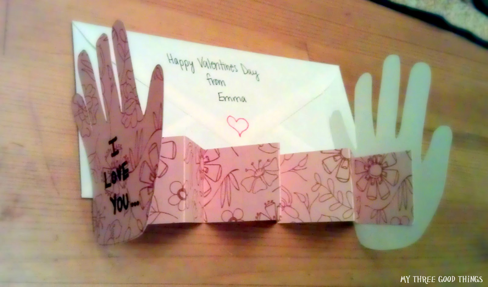 My Three Good Things Sweet Simple Valentines Day – How to Make a Good Valentines Day Card