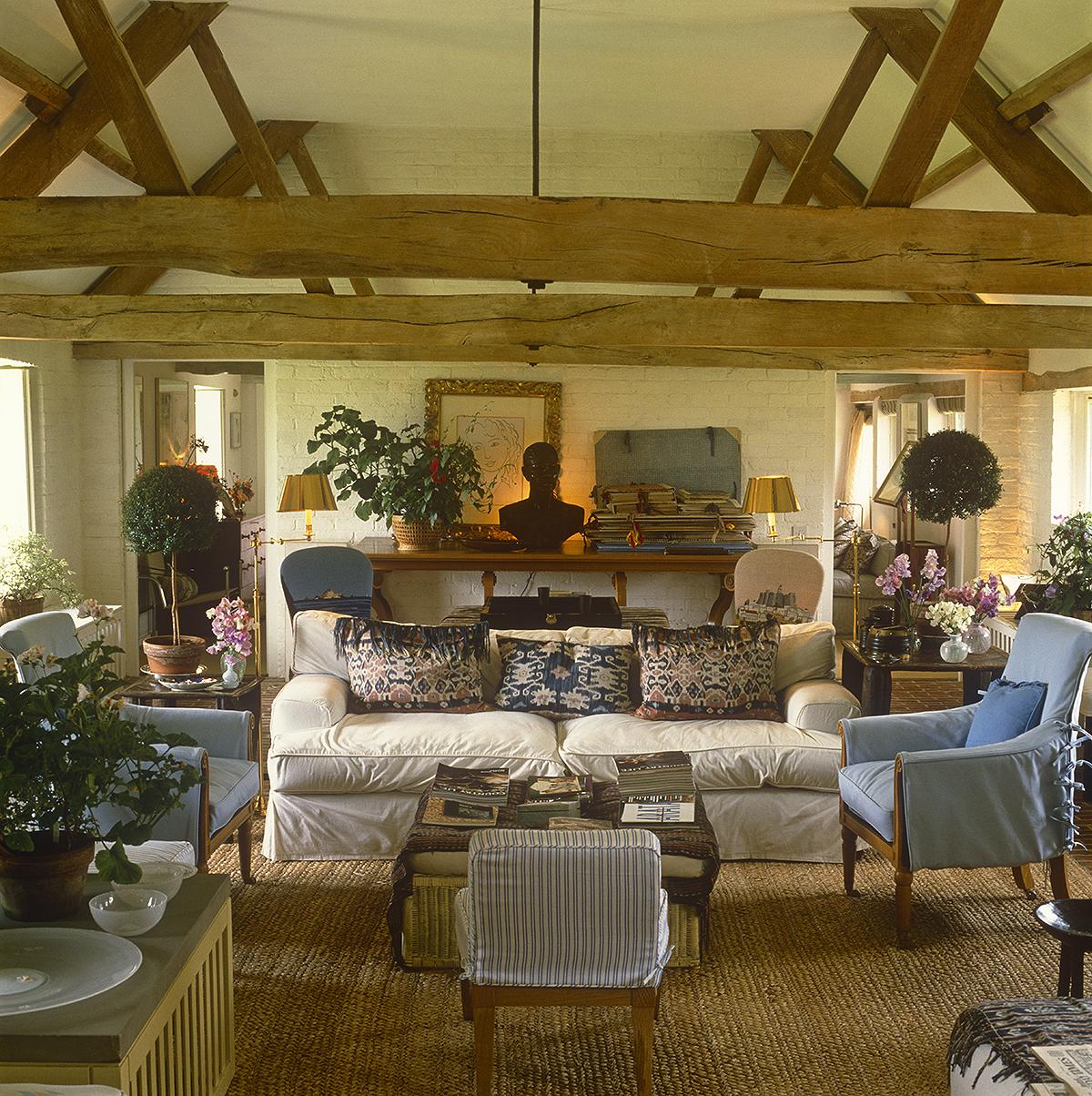 The developed eye living by design dorset cow sheds for John stefanidis interior design