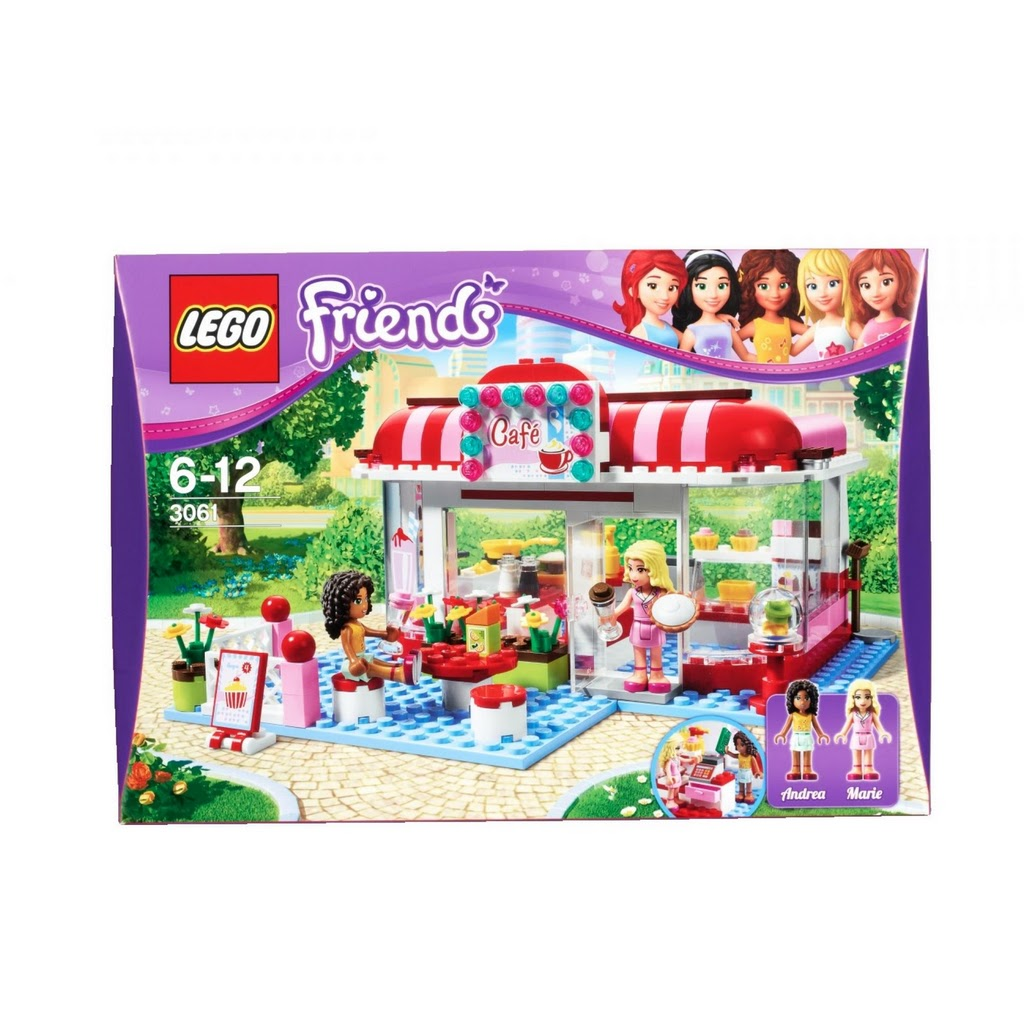 Lego Friends City Park Cafe Videos