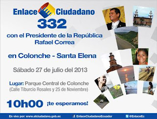 Enlace Sabatino 332 desde Colonche
