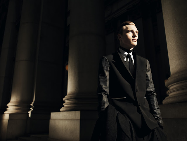 dior homme shadow shot by willy vanderperre