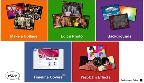 Edita tus fotos con Pizap para Facebook
