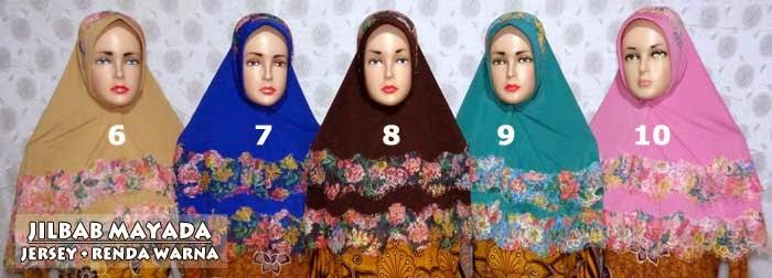 Jilbab-renda-warna-model-dua-susun-mayada