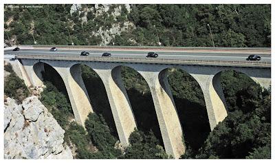 bridge grande corniche cote azur