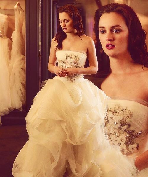 Chocolate Wedding Dress 51 Spectacular Blair Waldorf