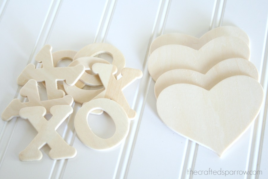 I Found Small Packages Of 2u2033 Wood Letters U0026 These Wood Hearts At Hobby Lobby.  The Washi Tape Is From Scotch Brand And Can Be Found At Target In The ...