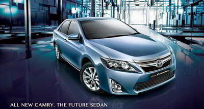 All New Camry Mobil Hybrid Terbaik Indonesia