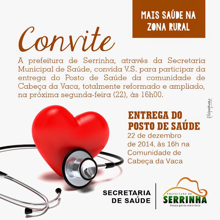 Secretária de saúde de Serrinha informa