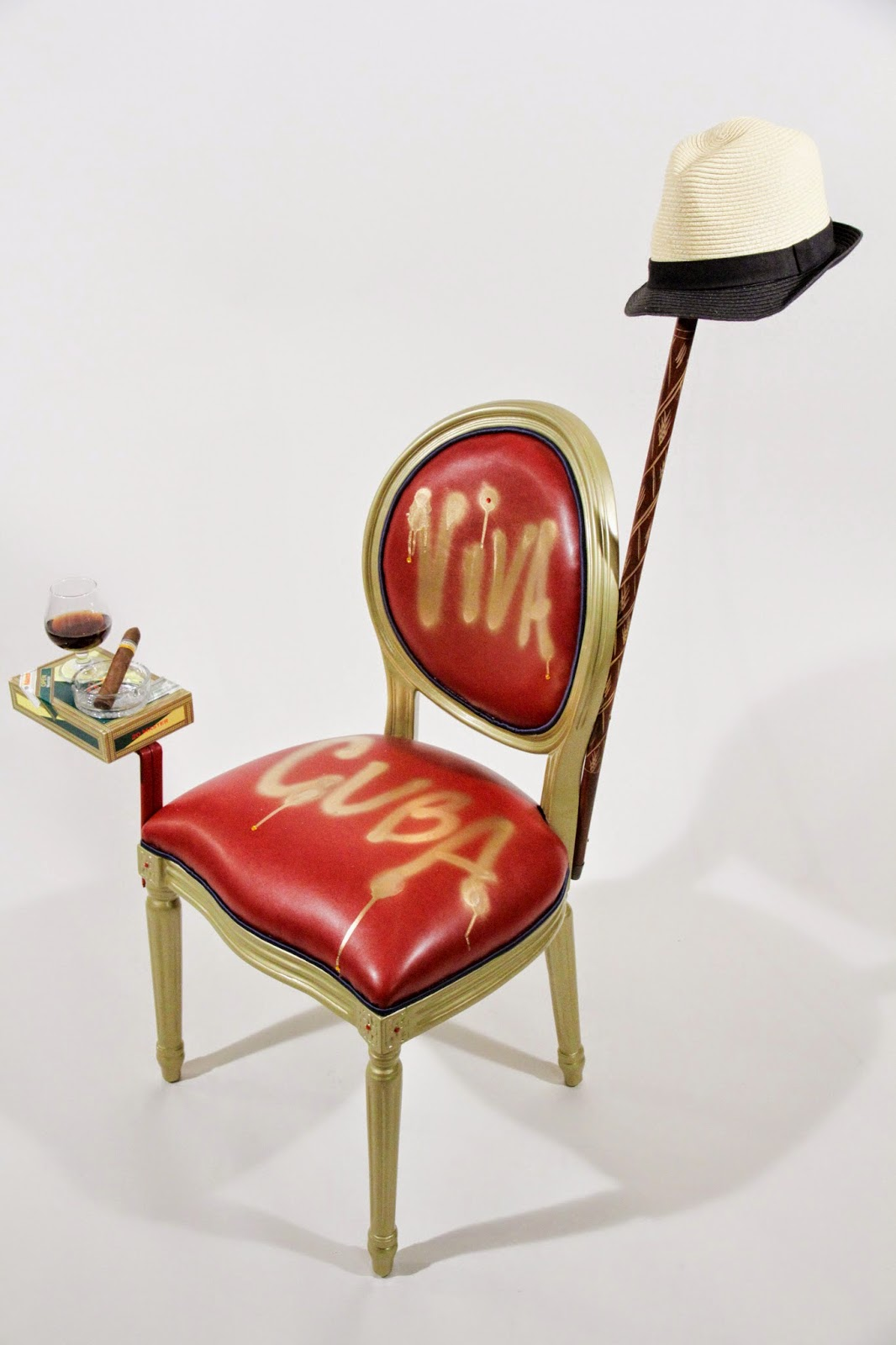 Given The Recent Enthusiasm And Interest In Cuba She Felt This Was The  Perfect Theme For Her Chair Design.