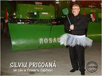 Funny photo Silviu Prigoană Zân la Primăria Capitalei
