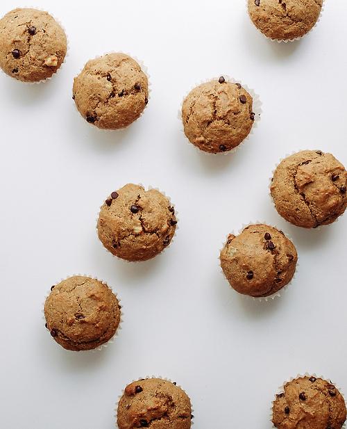 how to make banana choc chip muffins