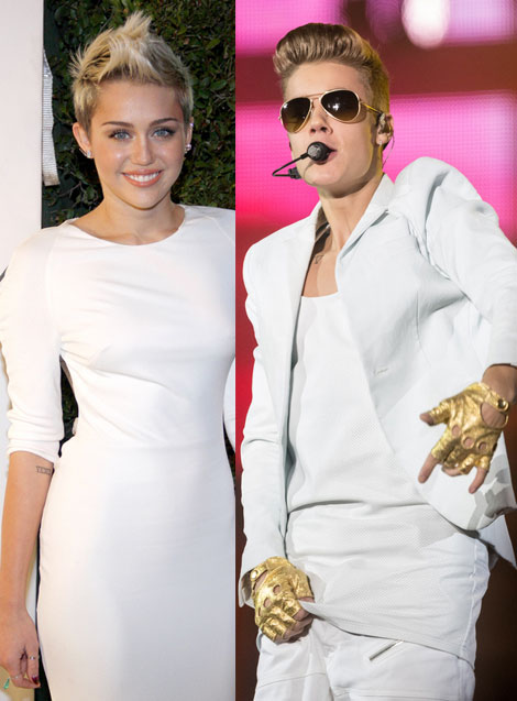Justin Bieber & Miley Cyrus Music Collaboration In The Works?
