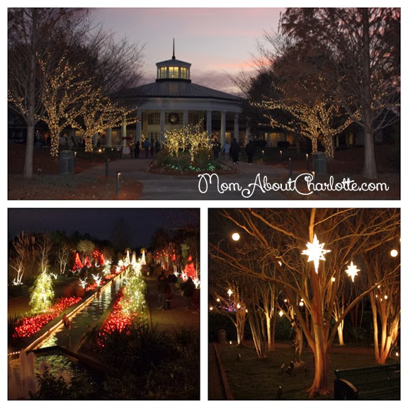 Holiday lights at daniel stowe botanical gardens - Daniel stowe botanical garden christmas ...