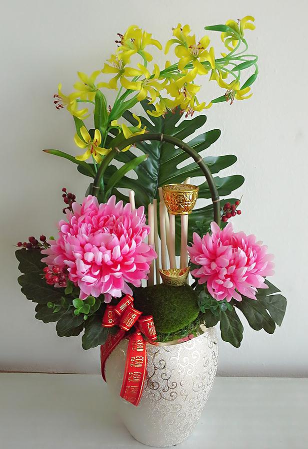 chinese flower arrangement - photo #14