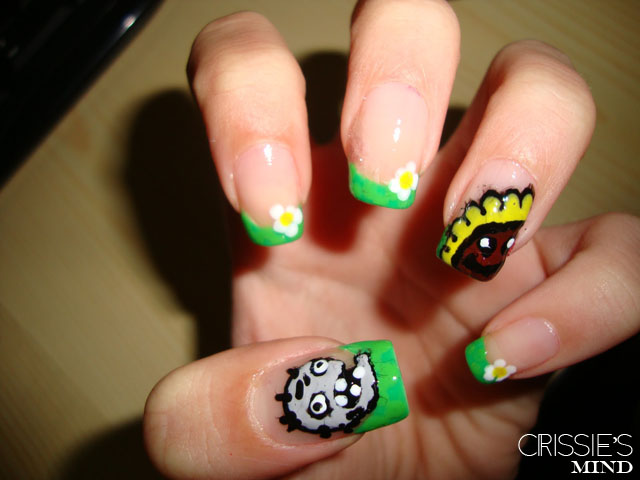Plants VS. Zombies Nail Art