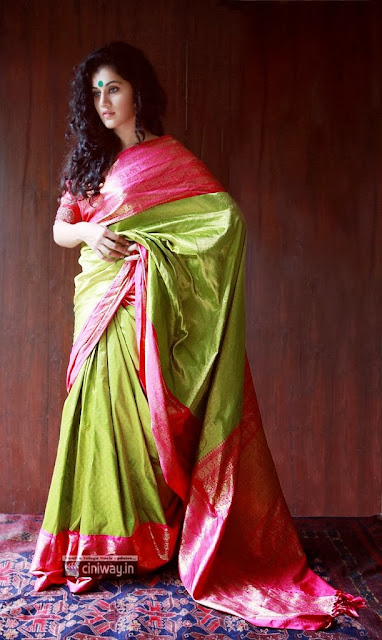 Tapsee Lovely Saree Photoshoot