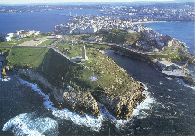 Increible panorámica de La Coruña