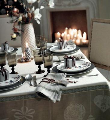 El Corte Inglés decoración Navidad mesas