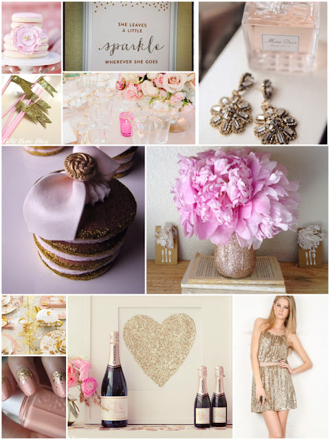 Pink + Gold party inspiration board 10 | Cordier Event Planning