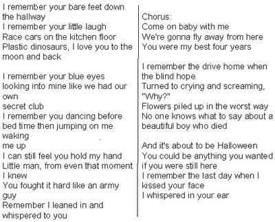 Ronan Lyrics Taylor With Story