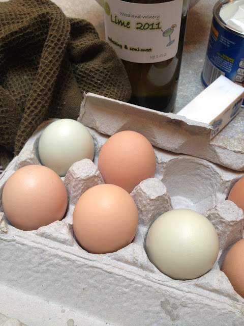 Home-raised eggs -- The Impatient Gardener