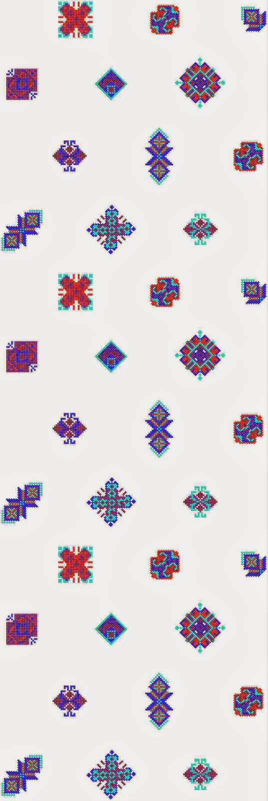 vars Oral patroon ontwerp