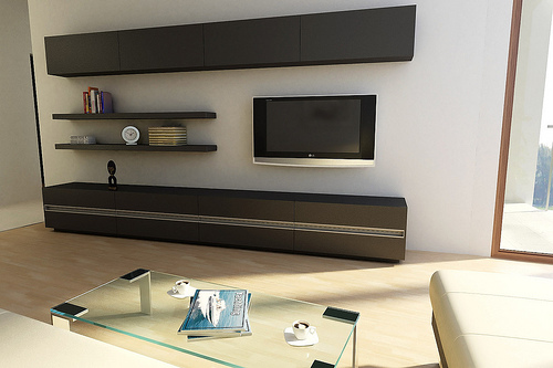 Furniture TV Cabinet Design Idea