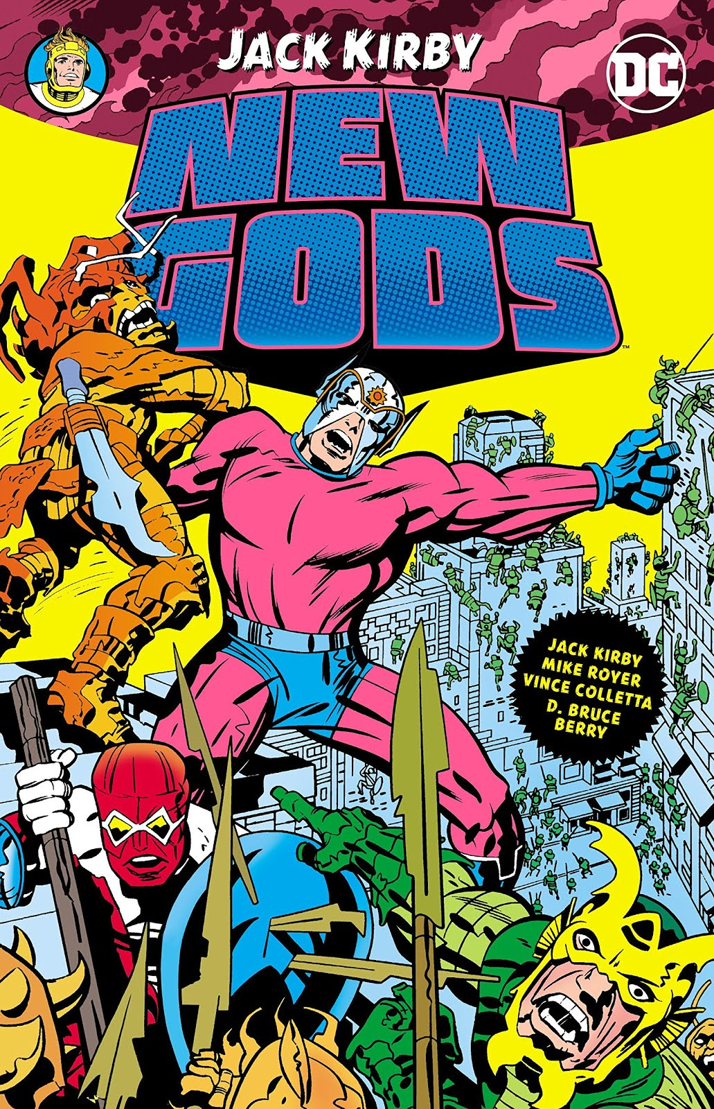 JACK KIRBY NEW GODS!
