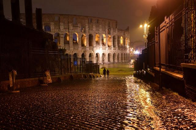Koloseum i Forum Romanum