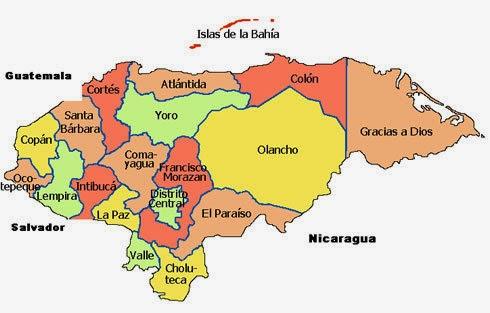 mapa-politico-de-honduras