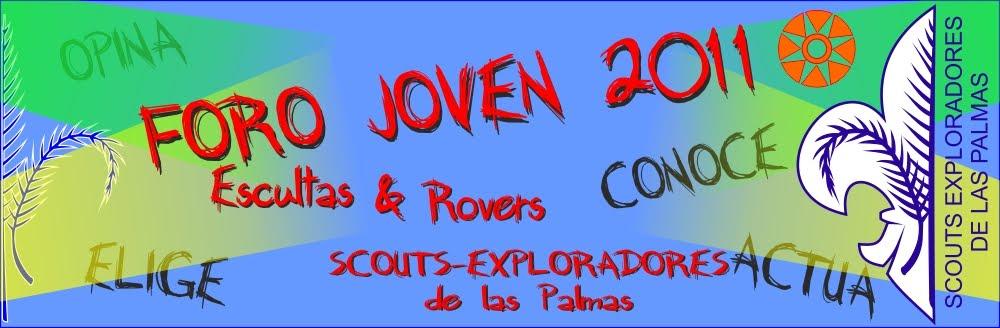 Foro Joven Scouts-Exploradores de Las Palmas 2011