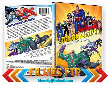 Super Vilões Liga Da Justiça Mandantes Do Crime 2014 DISCO 2 DVD-R