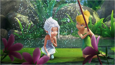 Tinkerbell and sister Periwinkle