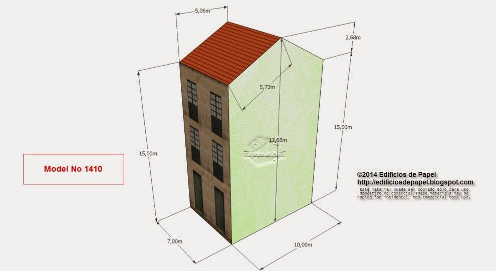 """Edificios de Papel - Modelo 1401 - Edificio Granito 5 - Serie """"Ourense"""" - """"Ourense"""" series"""