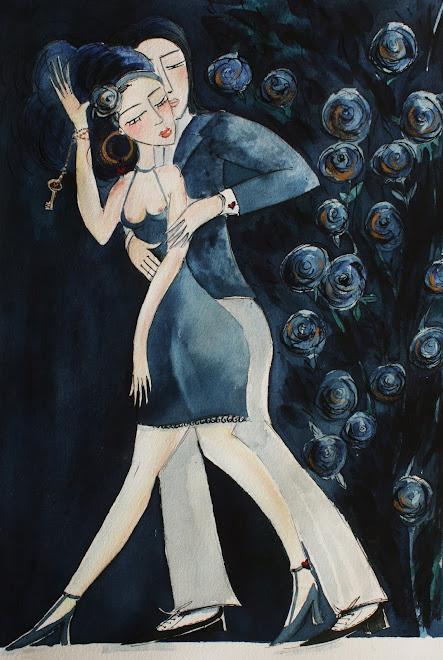 Tango, les roses bleues