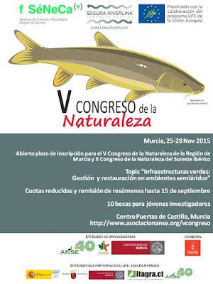 V Congreso de la Naturaleza de la Región de Murcia