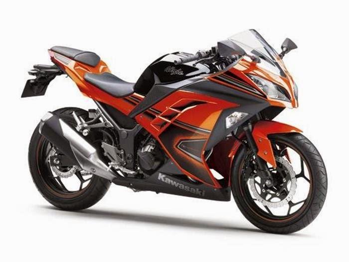 Gambar Motor Kawasaki Ninja N250 FI 2014 Stripping Baru title=