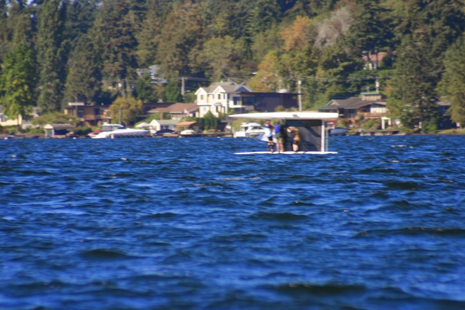 Righting a capsized hobie cat 1