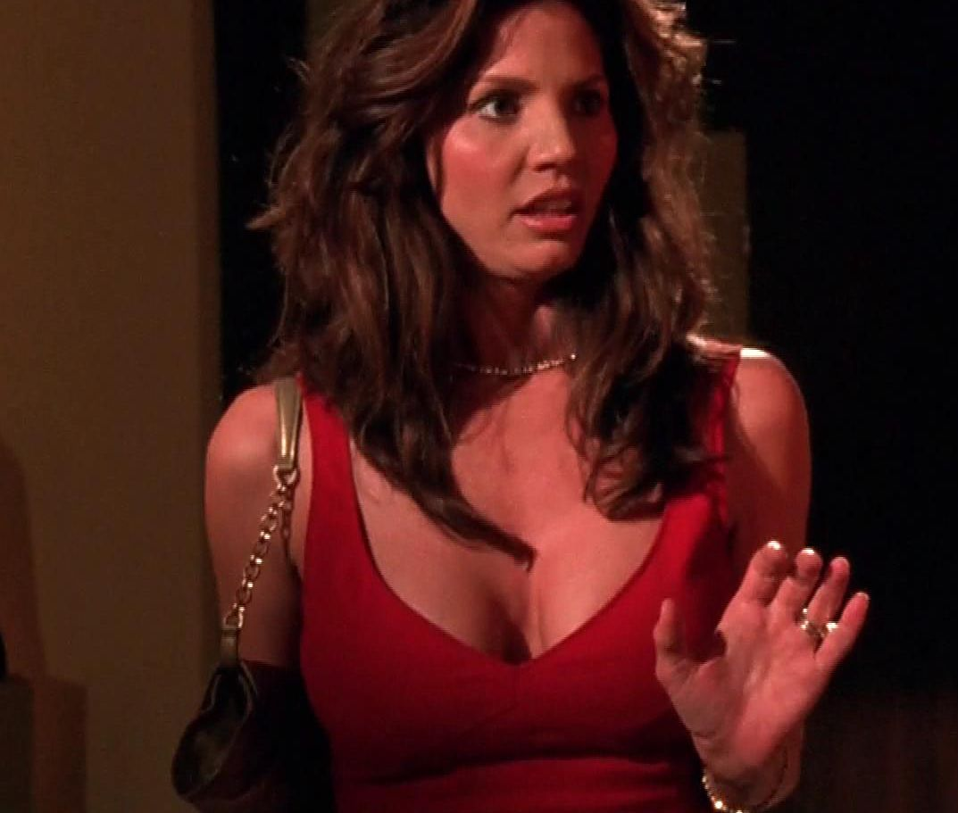 Criticising Charisma carpenter cleavage speaking