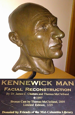 facial reconstruction Kennewick man