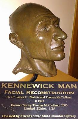 facial reconstruction Kennewick man