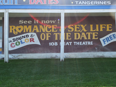 Advertisement for the Romance & Sex Life of the Date