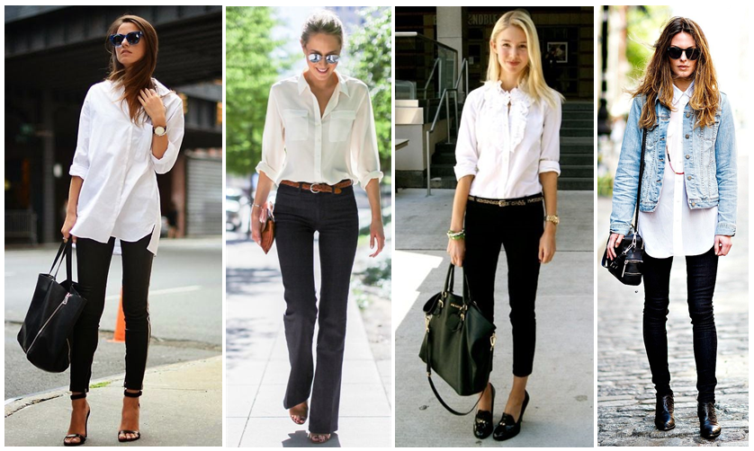 Maadalenaaa: How To Style | Oversized White Shirt