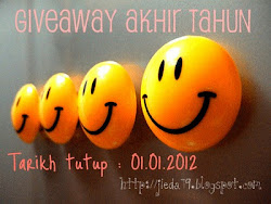 Giveaway Akhir Tahun -01.01.2012