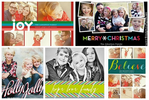 Shutterfly Contemporary Cards, via Serenity Now